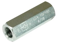 Check valves inline - Adjustable - LCA