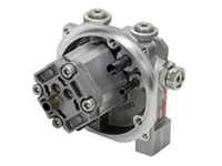 1,00CC 1001-20 pump support 2G For AC motor, Cyl. aksel