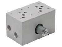 Blok med S-ventil (2xCetop5) med A04G2HZN