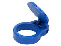 Blå selvlukkende støvhætte til HP10 + FH12 (ø38mm)