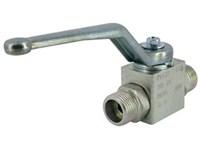 Ball valve-male -M16x1,5/ø8S   BKH 8S 08 1113 1