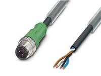 Sensor-/aktuatorkabel - SAC-4P-M12MS/ 5.0-PUR