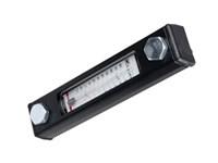 Nivåglas med termometer, 76 CC, M10
