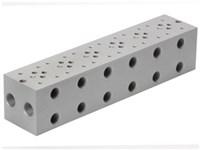 Bundplade for 6 x Cetop3 f. A04D2HZN S.vent+ GS04 omlv.
