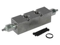 SDE030-060/OVN301 dobbelt sænke/bremseventil load sensitiv