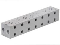 Bundplade for 7 x Cetop3 f. A04D2HZN S.vent+ GS04 omlv.