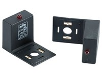 Led adapter m/VDR+LED 12-24V Rød