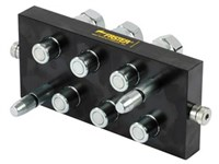 MultiFaster Mobile part, 2P606 6 outlet 3/8 , 1/2  BSP femal