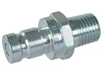 Male coupling Faster test type ISO 15171-1, male 1/4 NPT