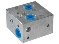Ventilblok f. Orbit Motor MM-OMH-LS-CP441-1-4B