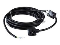 DUAL DIN A stik med indstøbt kabel