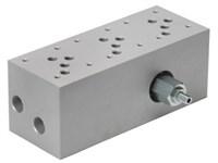 Blok med S-ventil (3xCetop5) med A04G2HZN