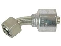 Kobling 1/4, 1/4 BSP oml. 45 4G-4FBSPORX45 Gates MegaCrimp