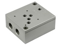 1/2   base plate (Cetop5)