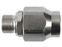 """Svirvel      1/4"""" BSP  400 bar Hydraulik Udv.x indv. lige"""