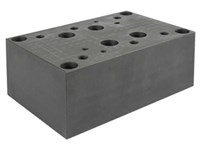 Cetop8 mounting plate 1.1/4    P-T-A-B-X-Y at bottom