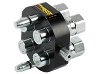 MultiFaster mobile part, 2P508 4x1/2  outlet, 1/2  BSP femal