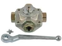 4-way valve-RG 1 stainless bal 4SK G1 25 2426 1 X06