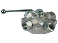 4-way valve-RG  stainless ball 4KH G5/4 25 2426 1 X06