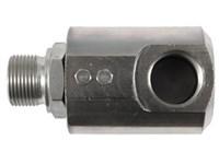 """Svirvel      1/4"""" BSP  400 bar Hydraulik Udv.x indv. vinkel"""