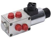 DFE080/6A18ES-W-201-12VDC      Walvoil 6/2-way valve 1/4