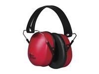 Hörselkåpa Fällbar Röd EN352-1