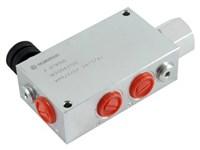 3-vejs mængdedeler 3/4  stål VPR/3/EP/34/V/AC,     Oleostar