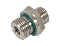 Indskruning - ø6L x M10x1 - WD pakning - AISI316
