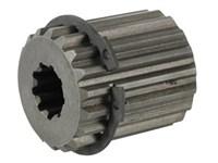 Bøsning DIN5482 35x31 Z18    + Indv. SAE 16/32 DP Z9