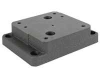 Cetop7 mounting plate