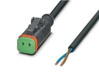 Sensor-/aktuatorkabel - DEUTSCH DT06-2S - 3.0 meter