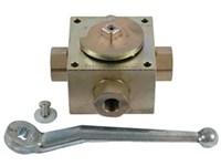 4-way valve - distributor      4KH G3/8 10 1123 1 L1 galvani