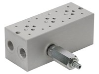 Base plate for 3 x cetop3      With A04D2HZN valve