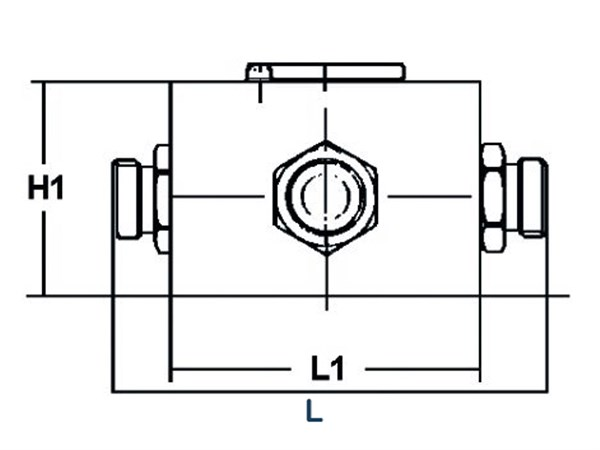 4-way valve-1/2BSP,heavy       4KH G1/2 13 2123 1 X06