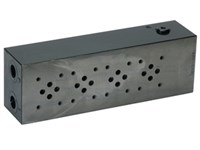 "Bundplade stål for 4 x Cetop3 A+B 3/8"", P+T 1/2"""