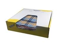 TexBox, flatlagda textildukar Kulört Flanell, 3.5kg