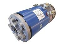 Elmotor 24 VDC 3KW med kylfläkt