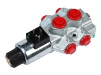 DFE052/6B18ES-W-201-12Vdc <CRZ> Walvoil 6/2-way valve 3/8