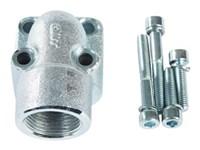 """Vinkelflange 3/4"""" BSP - (4) Boltcirkel 40mm"""