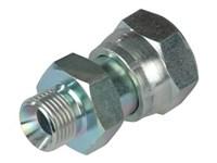 Adaptor 1/2 BSP x 1.3/16 ORFS nut