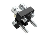 MultiFaster Hane, Serie P306, 2xInv-G3/8'', 1 kontakt 3-pol