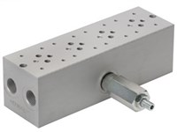 Base plate for 4 x cetop3      With A04D2HZN valve