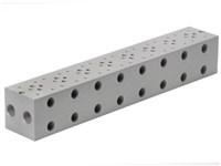 Bundplade for 8 x Cetop3 f. A04D2HZN S.vent+ GS04 omlv.