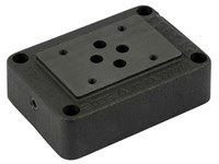 Cetop3 mounting plate 3/8      P-T-A-B at bottom