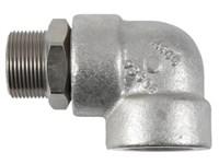 """Svirvel 1.1/4"""" BSP 100 bar Hydraulik  60 o/m Udv.x indv. vin"""