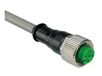 DIN72585 Kontakt 5m kab.vinkel