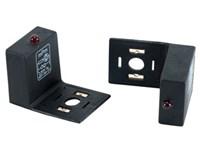 Led adapter m/VDR+LED 230V.Rød
