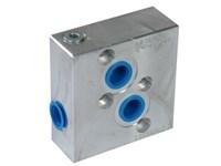 Ventilblok f. Orbit Motor MM-OMP/OMR/WP/WR-00-VME06-4B