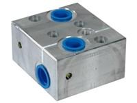 Ventilblok f. Orbit Motor MM-OMP/OMR/WP/WR-LS-CB10-4B