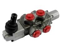 DF5/6A12L,3/8  diverter valve  Detend pos. 1+2, with lever